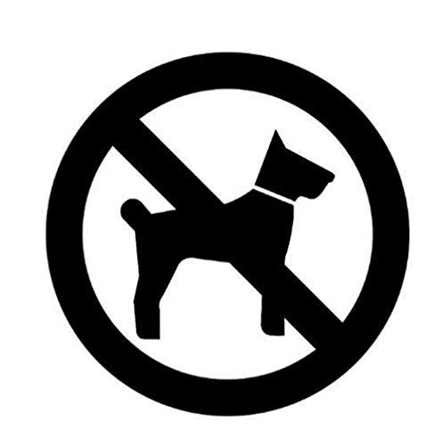 Wandsticker Sind Verboten, Um Die Beschilderung Zu Betreten. Hochwertige Restaurant Schule Flughafen Verbot Wegweiser Papier 12 * 12Cm