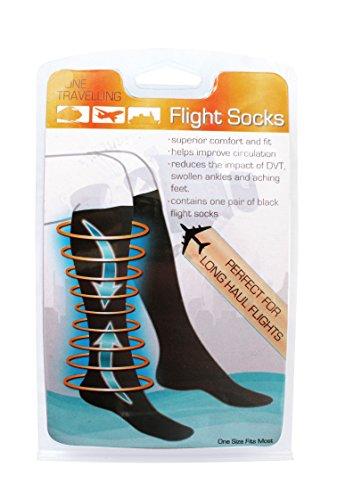 Boyz Toys - Calcetines para mejorar la circulación durante los viajes en avión