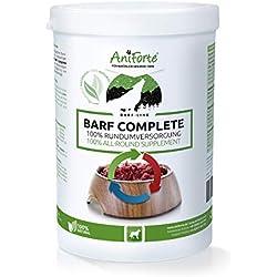 AniForte Barf Complete Pulver 500g für Hunde, 100% Natur Rundumversorgung - Natürlich, Artgerecht und Ausgewogen, Hochwertiger Zusatz beim Barfen, Reich an Mineralstoffen, Vitalität und Wohlbefinden