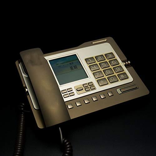 CQOZ Festnetztelefon Festnetztelefon für den Haushalt 182 x 247 x 99 mm, Festnetzanschluss (Color : A)