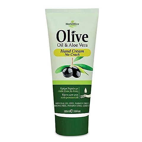 Herbolive Handcreme gegen rissige Hände mit Aloe Vera, 1er Pack