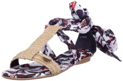 ESPRIT Kacy Sandal E10305, Damen Sandalen/Fashion-Sandalen, Blau (blue navy 493), EU 38