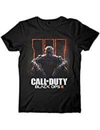 Call of Duty: Black Ops 3 - Soldier Logo Homme T-Shirt - Noir