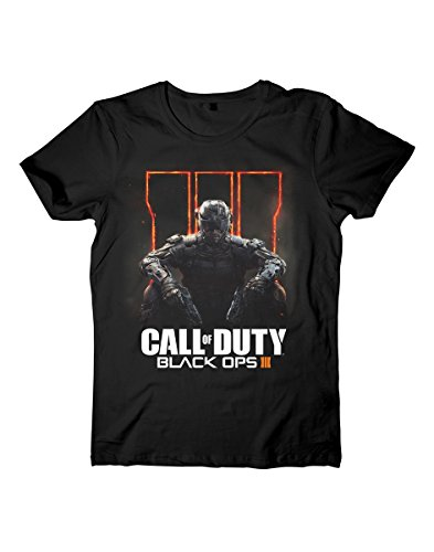 Call Of Duty Black Ops III T-Shirt nero L - Ops Serie
