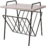 Tavolino Floreale Mini Scaffale Fiore Tavolino Creativo con Mensola Angolare Tavolino Tavolino Quadrato Moderno Semplice Tavolino Mini Tavolino, O&YQ, Colore rovere