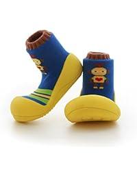 attipas Robot Amarillo Bebé Walker–Zapatos de bebé Zapatos Zapatillas