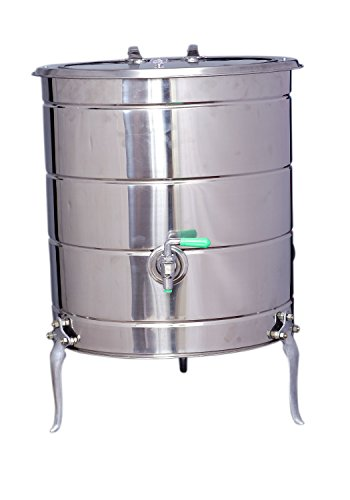 Tramp & Badger Stainless Steel Body Light Weight Power Saver Water Heater, (50L)