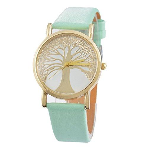 souarts-womens-light-green-color-band-life-tree-pattern-dial-quartz-analog-wrist-watch-24cm