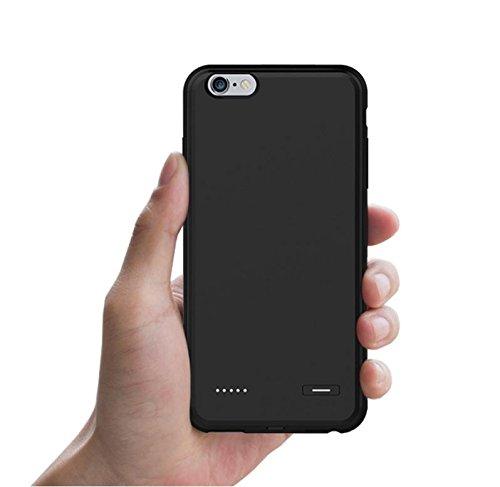 GDS Apple iPhone 6/6s. intégré de charge Mobile power. treasure. Téléphone portable boîtier matte black