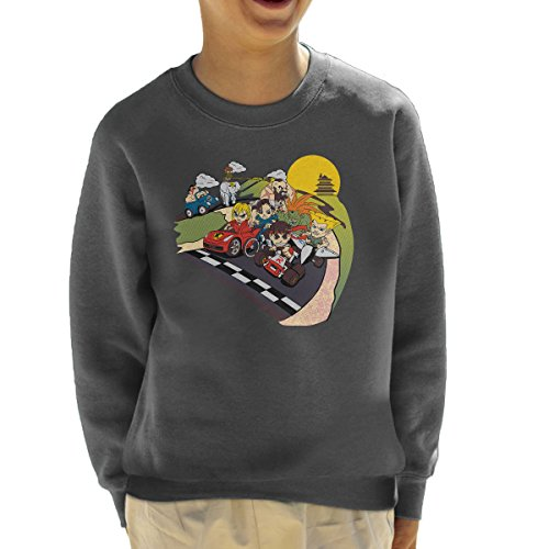 Preisvergleich Produktbild Super Fighting Kart Street Fighter Mario Kid's Sweatshirt