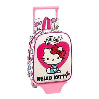 Hello Kitty Mochila guardería Ruedas, Carro, Trolley