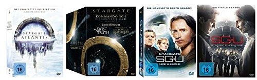 Stargate Kommando SG-1 + Stargate Atlantis + Stargate Universe - Komplett-Set