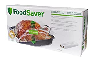 FoodSaver fvr003 X Rolls – Extendable, 2 Units, 27.94 Cm Up To 35.56 cm x 4.88 m