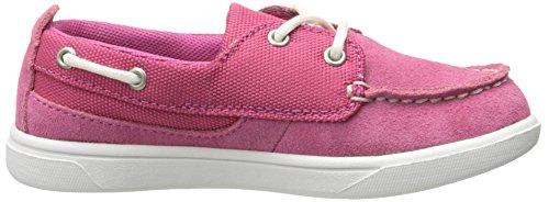 Timberland Groveton Boat OT Flat (Toddler/Little Kid) pink