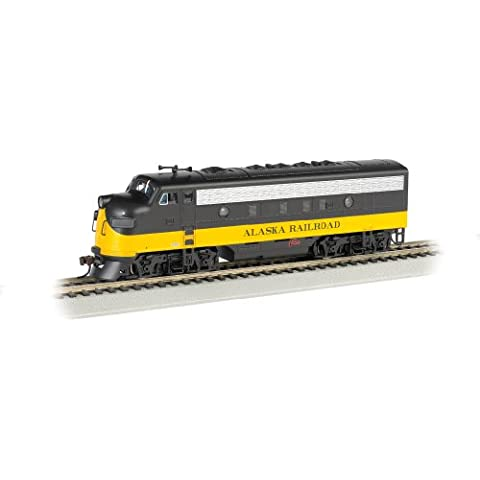 escala HO - Bachmann Locomotora diésel F7A Alaska Railroad