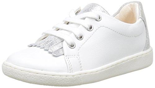 ShoopomDucky Mex - Basse Bambina , bianco (Blanc (Blanc/Silver)), 27 EU
