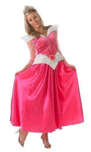 Disney Märchen Damen Kostüm Prinzessin Dornröschen zu Karneval Gr.S (Dornröschen Erwachsene Kostüme)