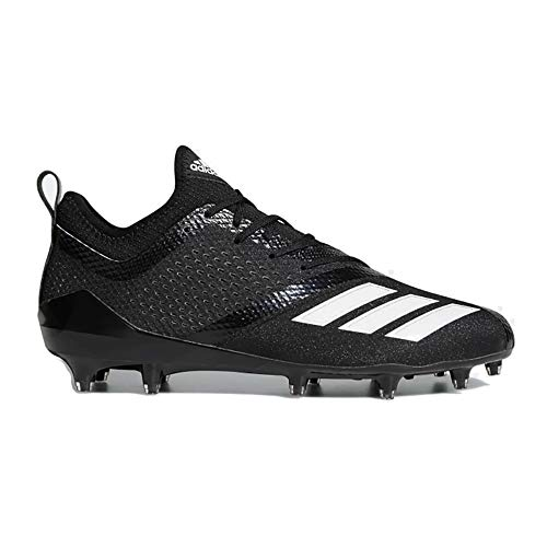 adidas Adizero 5Star 7.0 Cleat Men's Football 10 Black-White - Cleats Football