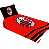 AC Milan Bettwäsche Set PL - Fanartikel - Fanshop - Duvet Set
