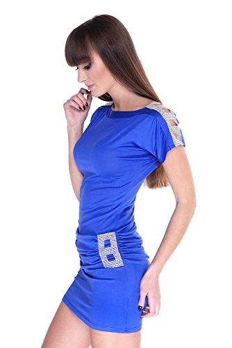 AE - Chemisier - Femme Bleu - Bleu