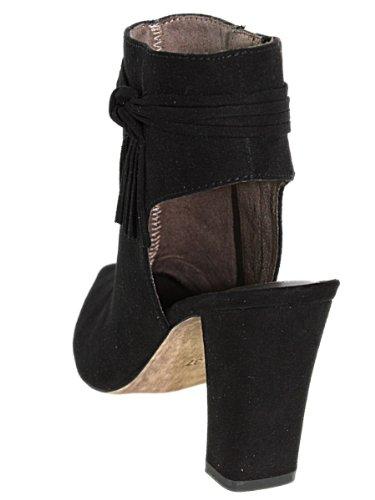 tamaris 25324, bottines noires ajourées femme tamaris c11tamaris033 Noir