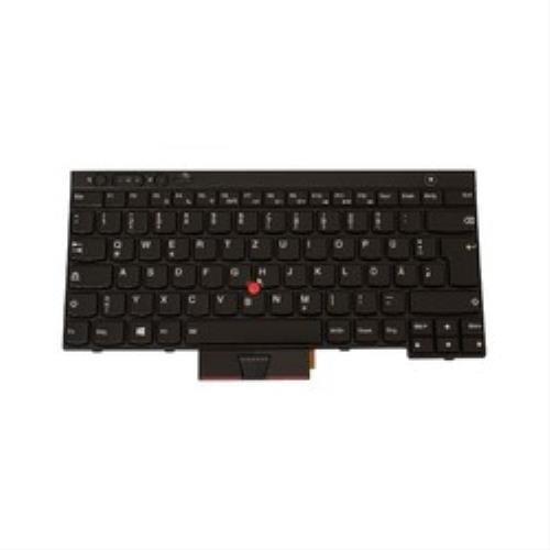 Lenovo 04X1289 Tastatur - Notebook-Ersatzteile (Tastatur, Lenovo, Schwarz, ThinkPad T430, T430s, W530, X230, X230i, Deutsch)