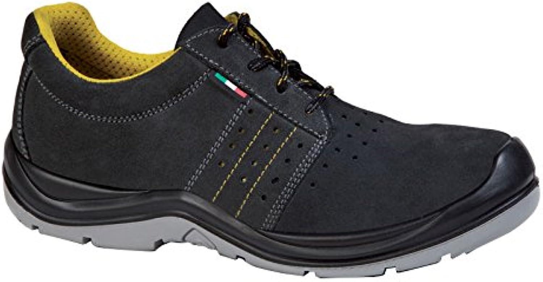 Giasco ac082tp41 Sahara Baja S1P zapatos, tamaño 41, negro/gris