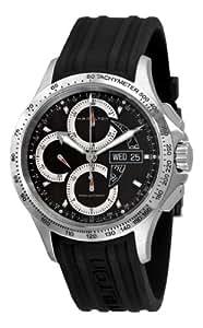 Hamilton Hommes H64616331 Khaki King Black Chronographe Cadran