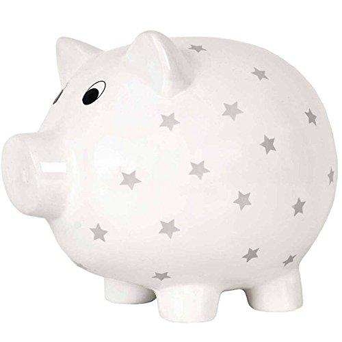 JaBaDaBaDo G10036 Spardose groß Schwein, weiß