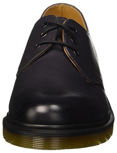 Dr. Martens 1461, Derby Mixte Adulte Gris (Charcoal Antique Temperley)