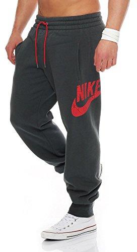 nuovo di zecca 8eb1f ff444 Nike Uomo Pantaloni felpati Pile Pantaloni Tuta Jogging Lato ...