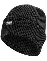 7X © Produit Original - Bonnet Oversize Thinsulate - Isolation Thermique - Protection contre le Froid - Coloris Noir - Ski - Snow - Surf - Airsoft - Paintball - Chasse - Pêche - Outdoor - Randonnée