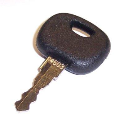 Preisvergleich Produktbild Ersatzschlüssel Typ A 14603 KM Nr.:10 11 0008 für Start/Zündschalter KM-Nr.:10 11 0003; 10 11 0004; 10 11 0007; 10 11 0011