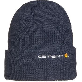 Carhartt Wetzel Watch Cap - Blu marina Thick Acrylic Rib Knit Hat CH100773412NAVY-One (Rib Cap)