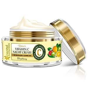 Oriental Botanics Nature's Vitamin C Brightening Face Night Cream - With Kakadu Plum - For Revitalized and Glowing Skin, 50 g