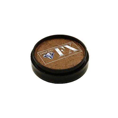Diamond FX Metallic Face Paint Refill - Old Gold (10 gm)
