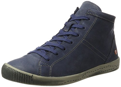Softinos - Isleen Washed, Pantofole a Stivaletto Donna blu (navy)