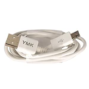 YMK Micro USB to USB High speed data transfer and Charging Cable for Lenovo A390