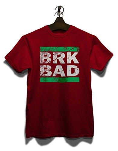 Brk Bad Vintage T-Shirt Bordeaux