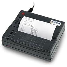 Impresora térmica de estadísticas para KERN-Balanzas con Interfaz de datos RS-232 [
