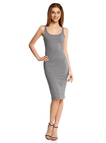 oodji Ultra Women's Jersey Dress with Thin Straps