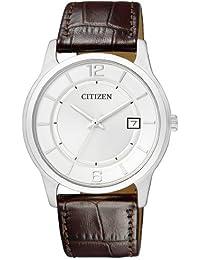 Citizen Herren-Armbanduhr Analog Quarz Leder BD0021-19A