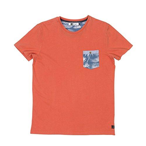 Rip Curl Premium Scene Pocket T-Shirt, Rosa, M
