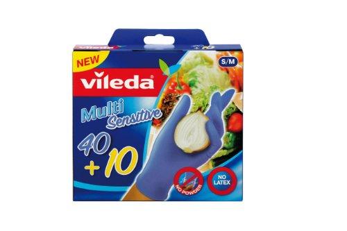 adatto a uomini/donne design professionale come serch Vileda multi Sensitive guanti taglia S/M 40 + 10 pz.