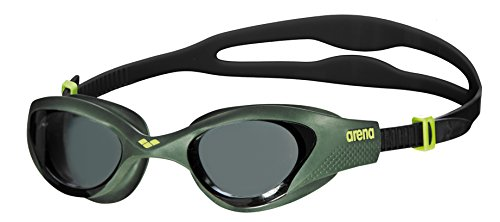 Arena The One Occhialini Unisex, Smoke/Deep Green/Nero, TU