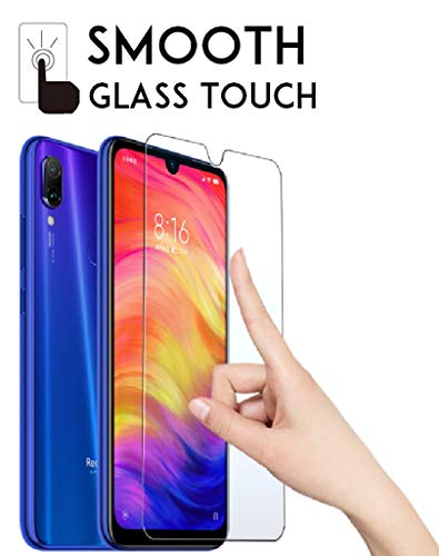 Dainty Tempered Glass Screen Guard Gorilla Protector for Mi Redmi 7 (Transparent)