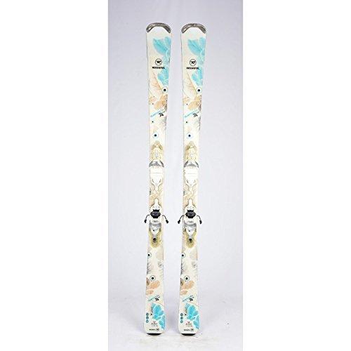 Ski Gelegenheit Rossignol Temptation 74ltd weiß blau + Befestigungen, damen