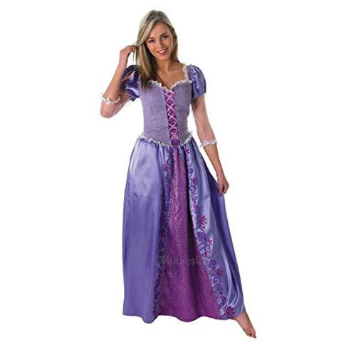 Rapunzel Erwachsene Damen Kostüm Für - Rubie's Offizielles Rapunzel-Kostüm für Damen, Disneyprinzessin, Erwachsenenkostüm-Größe: S
