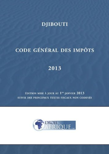 Djibouti - Code général des impôts 2013