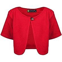 Rote strickjacke baby